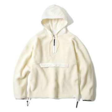 MAGIC STICK SS17 Sheep Pile 'PSYCHO' Hoodie