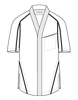 Abasi Rosborough SS17 EPOCH ARC DESERT SHIRT Technical Sketch