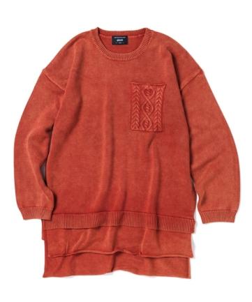 glamb SS17 Hadson layered knit