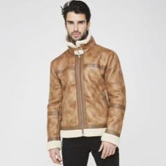 Maniere De Voir SS17 Shearling Lined Jacket