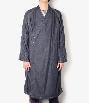 Needles SS17 Denim Samue Coat