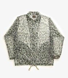Needles SS17 Mesh Leopard Coach Jacket