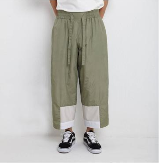 iise SS17 Wide Cropped Pant 3